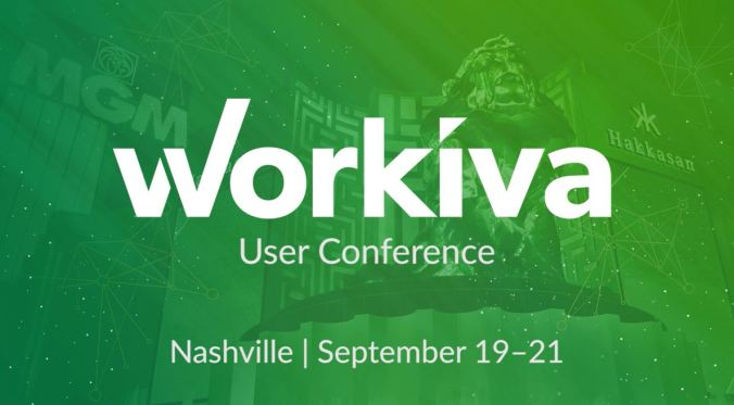 Workiva User Conference 2018