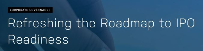 Nasdaq Refreshing the Roadmap to IPO Readiness
